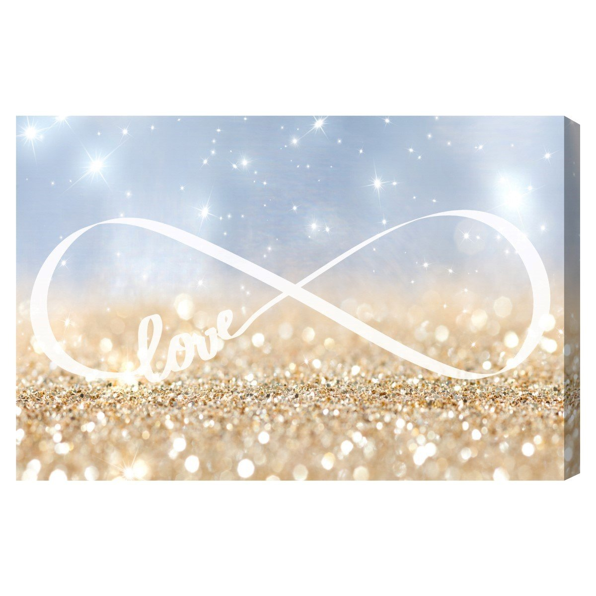 The Oliver Gal Artist Co. 'Infinite Love Sign' Canvas Art, 36''x24''