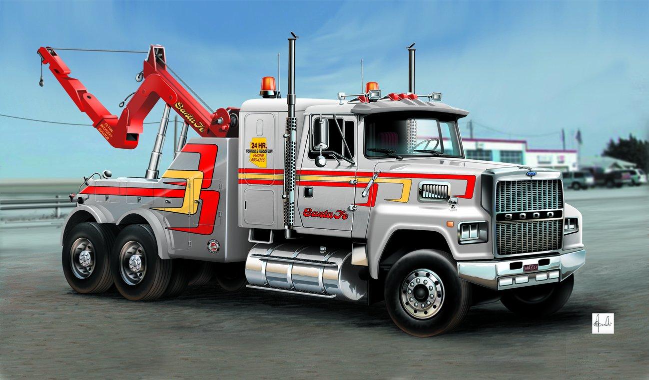 Italeri 510003825 - 1:24 US Abschlepp-Truck 553825