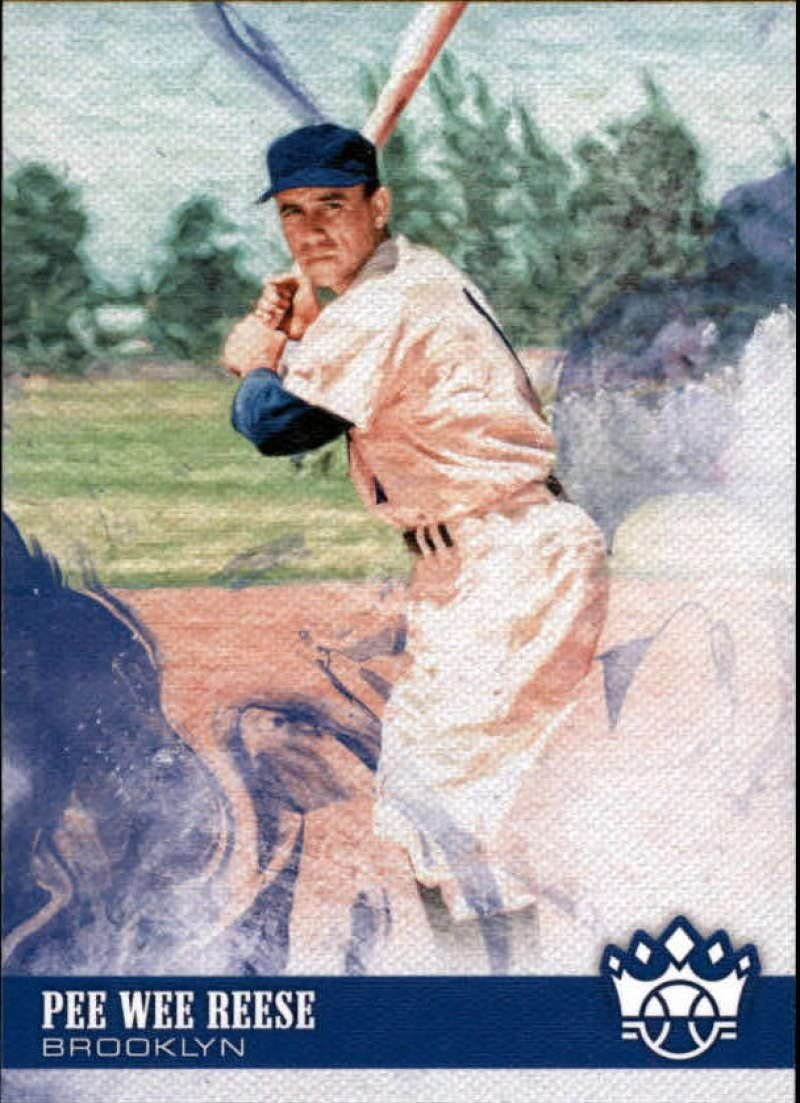 2018 Panini Diamond Kings #23 Pee Wee Reese Brooklyn Dodgers Baseball Card