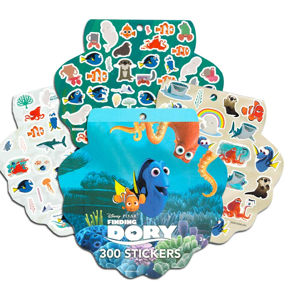 Cars and Coco with 300 Pixar Stickers 3 Disney Scratch Books for Kids Featuring Toy Story Arts and Crafts for Kids Disney Scratch Art for Kids Toddlers Boys Girls-