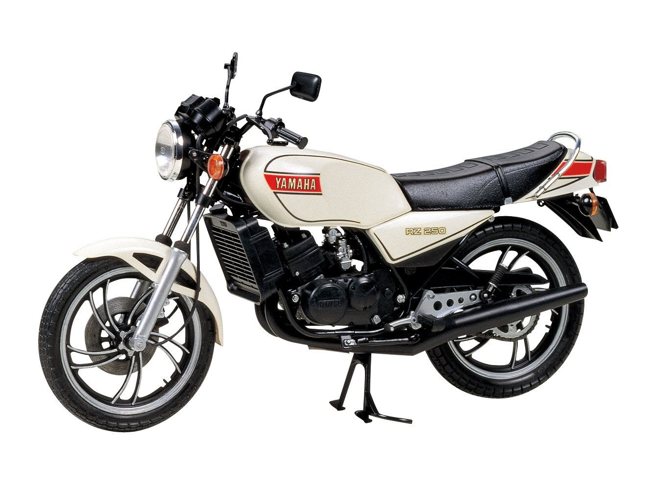 タミヤ 1/12 オートバイシリーズ No.02 ヤマハ RZ250 プラモデル 14002 B073S2ZZFK