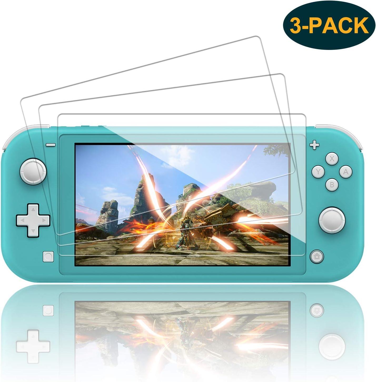 Protector de Pantalla para Nintendo Switch Lite, FASTSNAIL 9H de ...