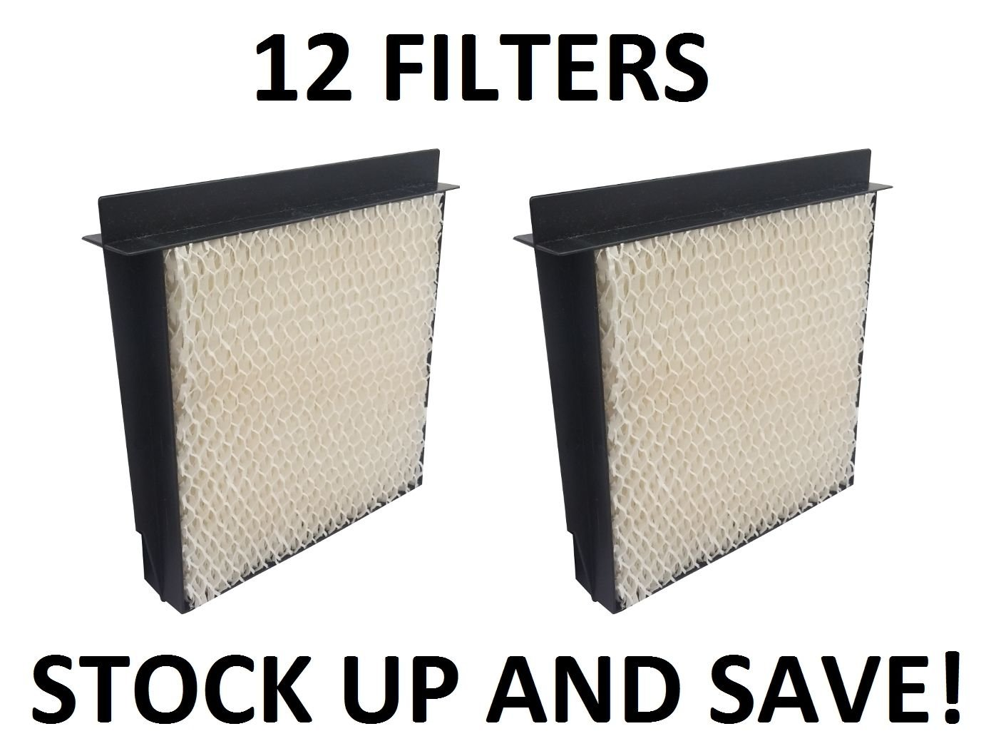 Humidifier Filter for Bemis Essick Air 1040 Super Wick - 12 Pack