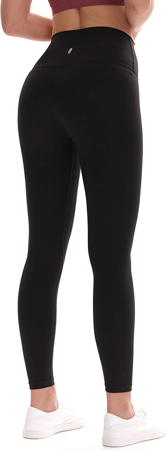 USHARESPORTS Leggings for Women High Waisted Yoga Pants for Women with Pockets