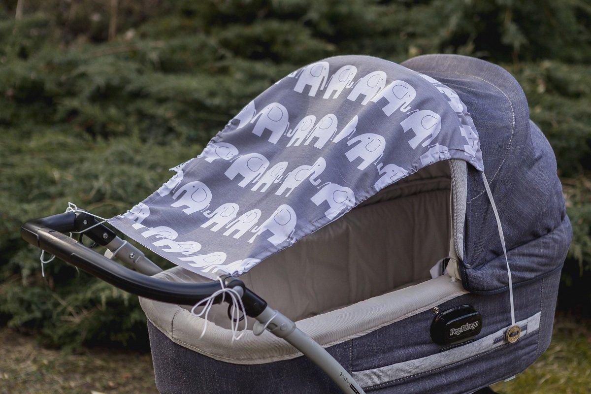 KempKids Pare-soleil pour poussette Protection vos Enfants Contre la R/éflexion du Soleil et la Chaleur Taille 50 x 65 cm Aventure ensoleill/ée