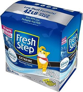 Amazon.com: Arena para gatos Fresh Step de agolpamiento ...