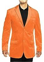 Guytalk Men's Claasic Sport Jacket Velvet Blazer