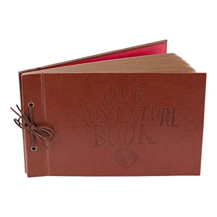 Amazon Pulaisen Leather Scrapbook Up Our Adventure Book