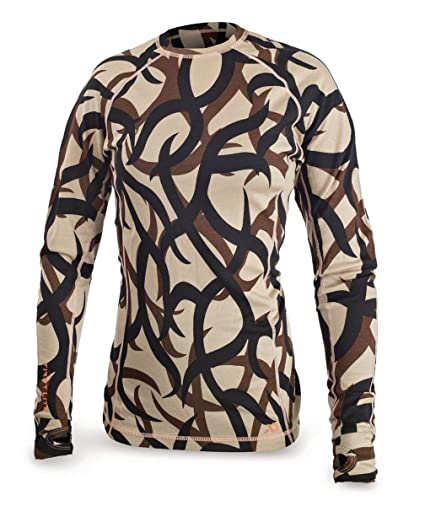 Amazon.com   First Lite Women s Merino Wool Long Sleeved Shirt ... 63c84e215