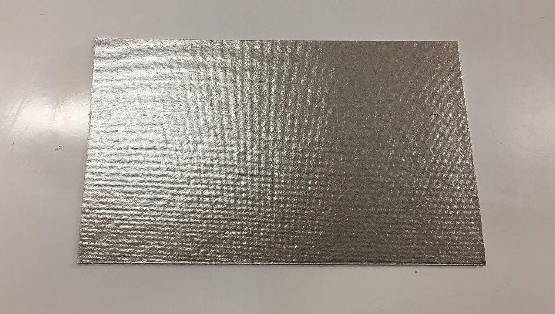 RECAMBIOS DREYMA Papel Placa Mica MICROONDAS Universal Grosor 0,4MM 150MMX100MM Temp.MÁX 600 °C