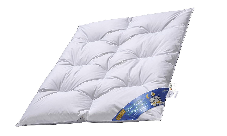 ARO Junior DAUNEN-Bett Nobless,100x135 cm, weiße weiße weiße sibirische Gänsedaunen 90% made in Germany 1fddd2