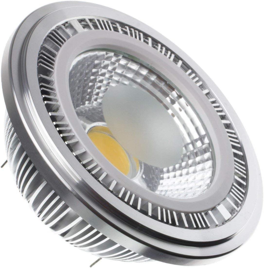 Bombilla LED AR111 12V COB 12W Blanco Neutro 4500K