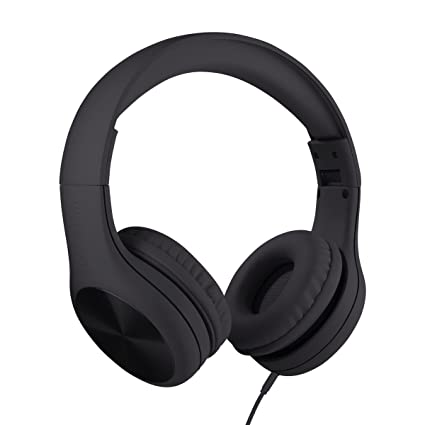 eb2eefc9754 LilGadgets New Connect+ Pro Premium Volume Limited Wired Headphones with  SharePort for Children/Kids (Black): Amazon.ca: Electronics