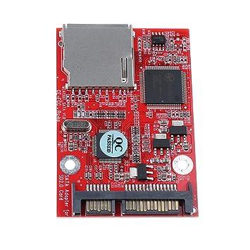 B Blesiya Tarjeta Modulo SD SDHC MMC a SATA Adaptador ...