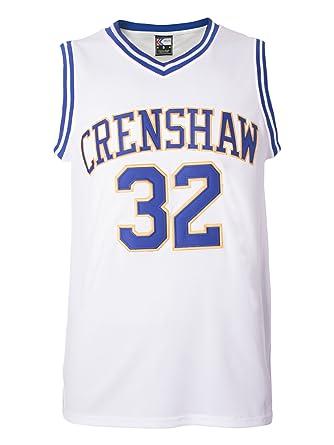 MOLPE Monica Wright 32 Crenshaw High School Basketball Jersey S-XXXL White  (S) dbea85eb74