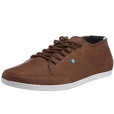 Boxfresh Sparko SH Maroon White RIP Nylon Mens Trainers Shoes-7 c7IGYHXU6