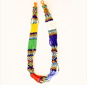 Ndlovu Zulu Necklace | by Woza Moya (Come Spirit of Change) | Handmade by The Hillcrest AIDS Centre Trust Crafters in South Africa