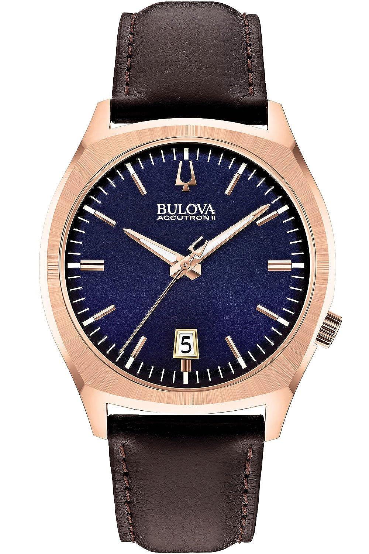 [ブローバ アキュトロン 2] BULOVA ACCUTRON II [サーベイヤー] SURVEYOR 97B133 3気圧防水 メンズ [正規輸入品] B00M6S62QA