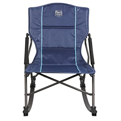 Timber Ridge Catalpa Relax & Rock Chair, Blue : Sports & Outdoors