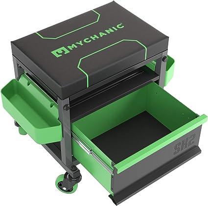 Mychanic Taburete Sidekick SK2 | Taburete con Caja de Herramientas ...