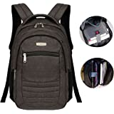 """Advocator Slim Business Backpack for Laptop Up To 14"""" Waterproof Travel Daypack"""
