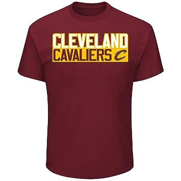 Lebron James Cleveland Cavaliers # 23 NBA hombres verticales del jugador camiseta granate, mujer Unisex