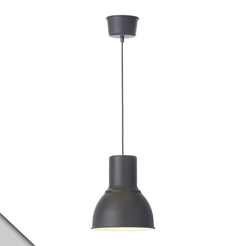 ikea hektar pendant lamp d 9 e26 bulb ceiling pendant rh amazon com Fog Lamp Kit Lamp Rewiring Kit