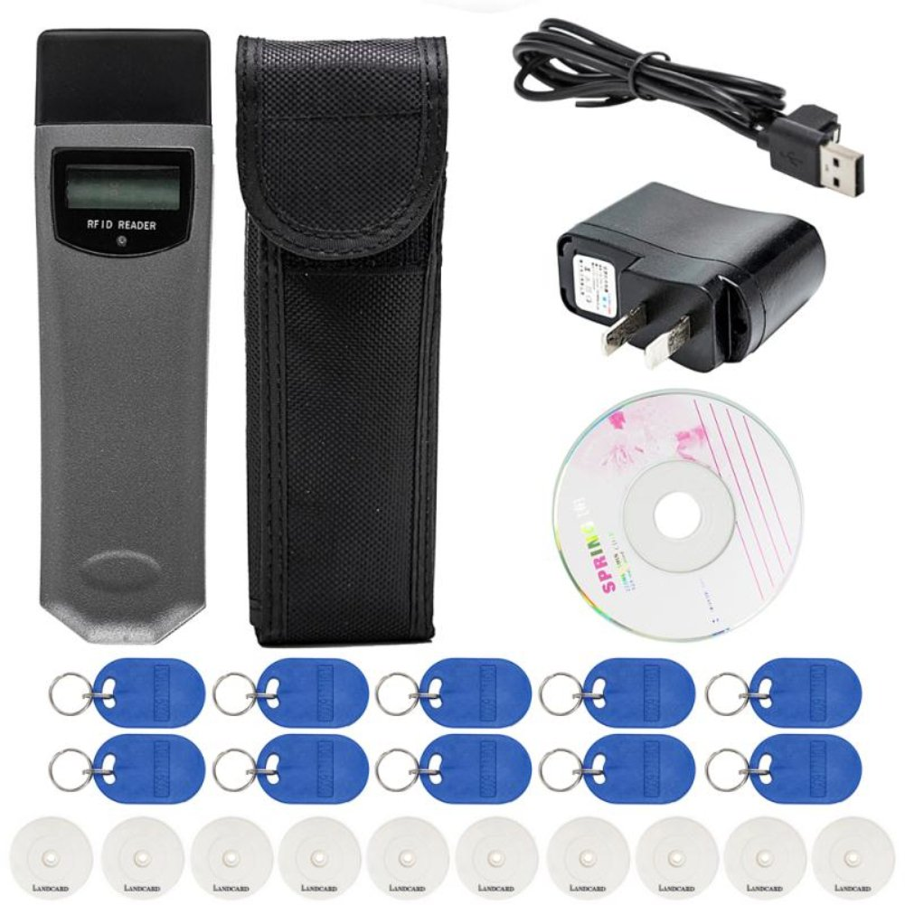 Landcard Guard Tour Patrol System RFID Inductive Security with 10 Checkpoint 856484