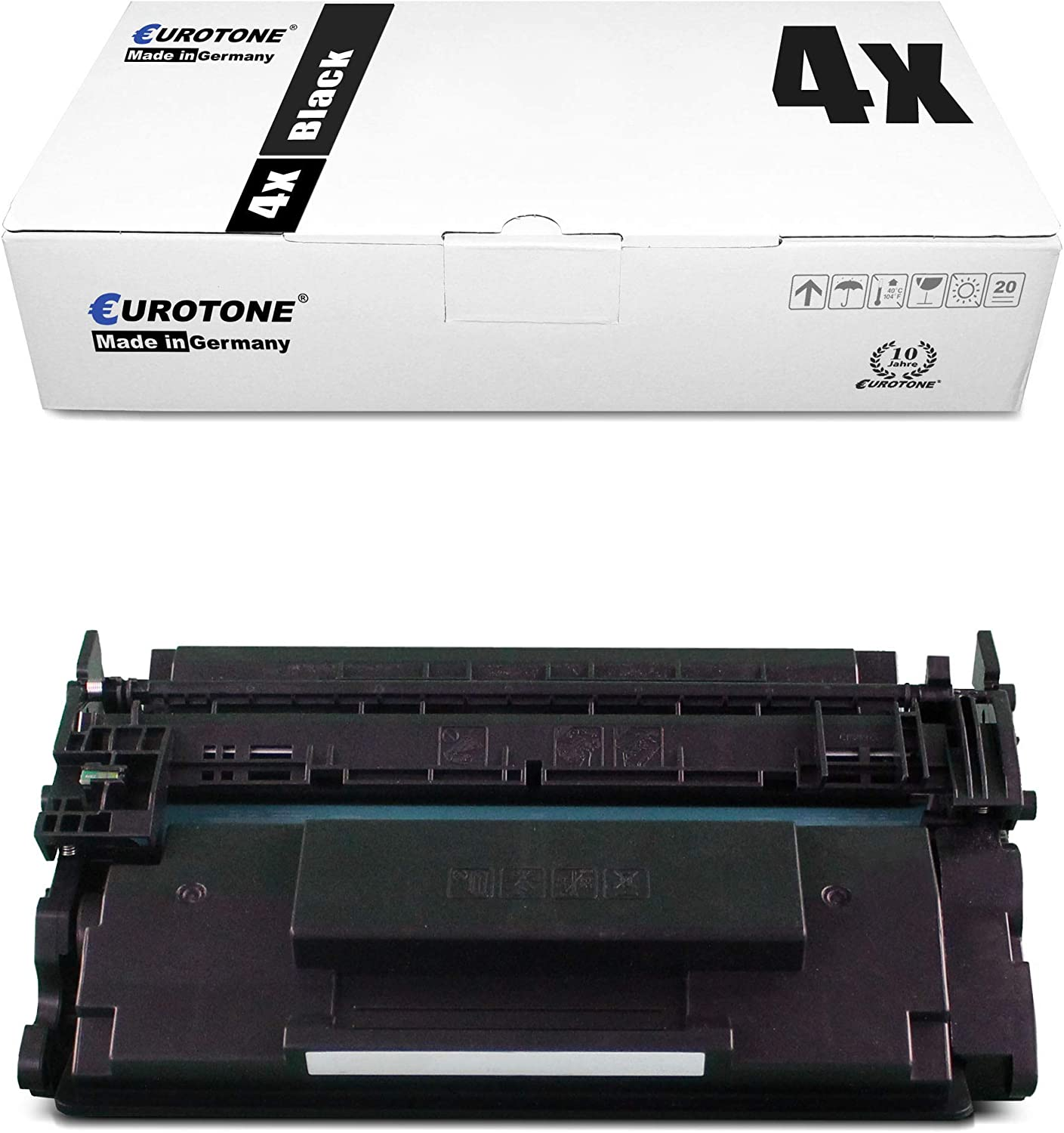 4X Eurotone Remanufactured Toner for HP Laserjet Pro MFP M 227 fdn fdw sdn Replaces CF230X 30X