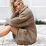 XOWRTE Women's Lapel Faux Shearling Warm Winter
