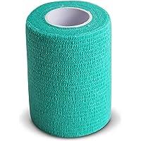 Venda Cohesiva Verde 6 Rollos x 7,5 cm
