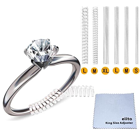 Ring Size Adjuster Set of 4 Sizes Snuggies 12 Pack Ring Guard for