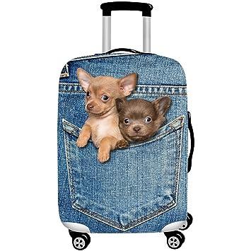 gwell Animal en 3d dibujos animados elástico Carcasa maletín para maletín Luggage Cover con cremallera Funda