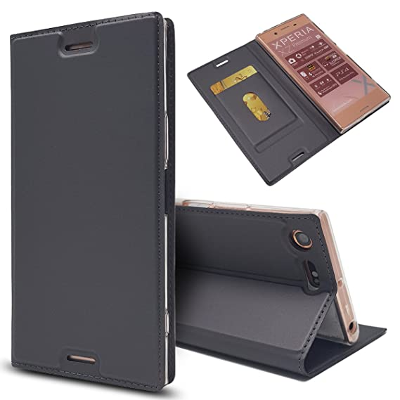 new product 06917 c212d Amazon.com: Sony Xperia XZ Premium - phone case Leather cover Wallet ...