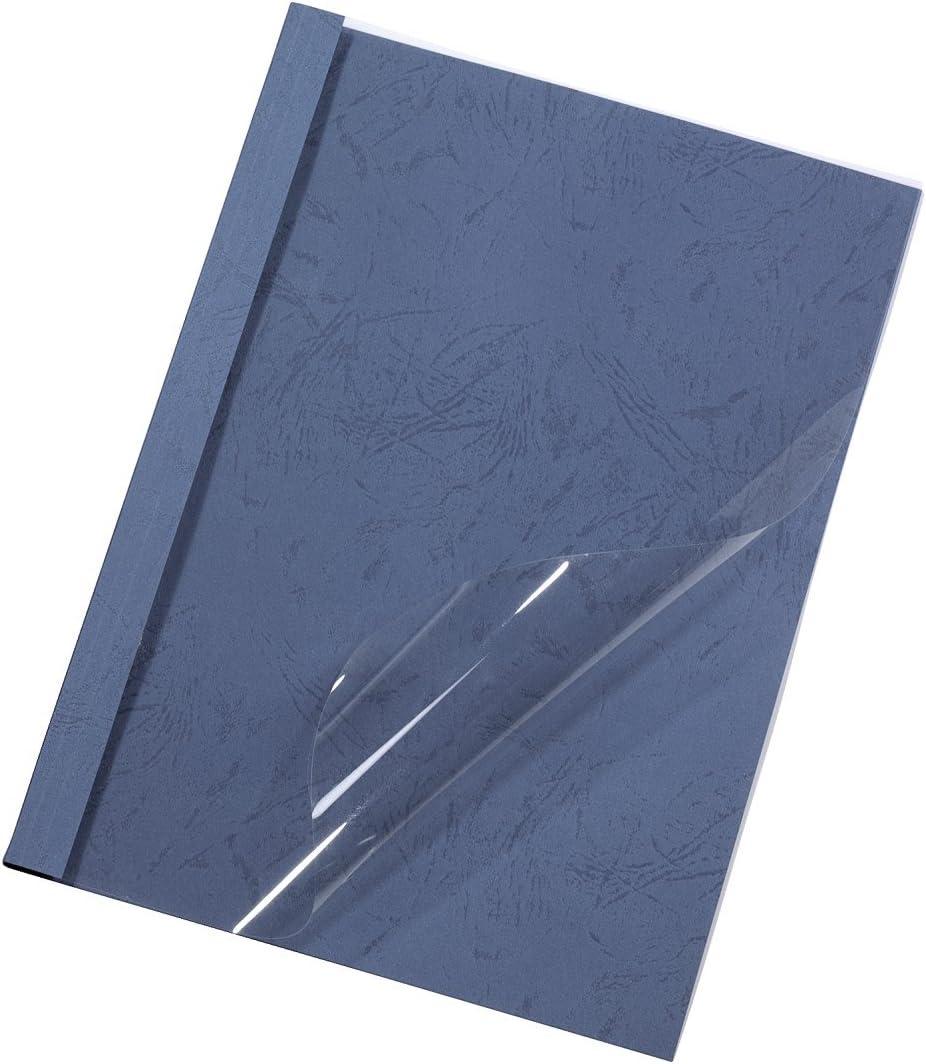 50 St/ück blau Hama Thermobindemappen 15,0 mm