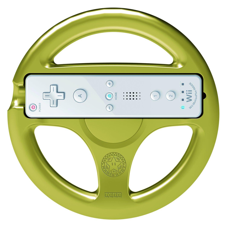HORI Mario Kart 8 Racing Wheel Link for Nintendo Wii U and Wii by Hori