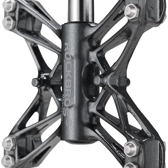 RockBros Bicicleta de carretera pedales magnesio BMX MTB Ultraligero para Bicicleta de montaña pedales plataforma, Gris: Amazon.es: Deportes y aire libre