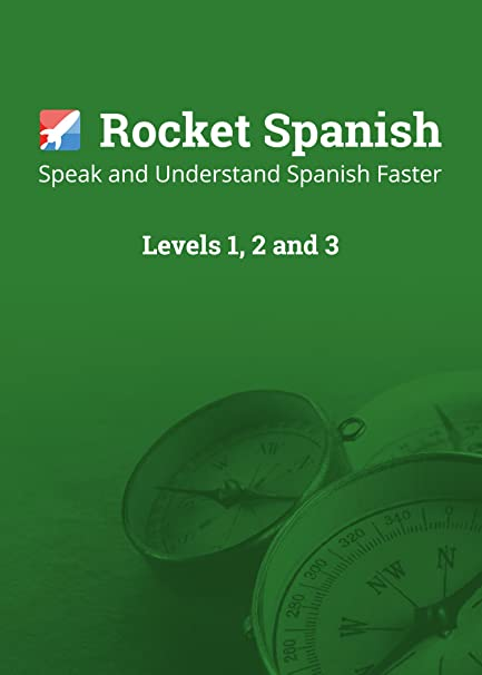 Learn Spanish - Rocket Spanish Level 1, 2 & 3 Bundle  The best value  Spanish course to learn, speak and understand Spanish fast  Over 360 hours  of