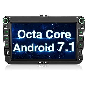 "Pumpkin 7"" Pantalla Táctil Digital 1080P HD Android 5.1 Lollipop Reproductor de DVD Con GPS"