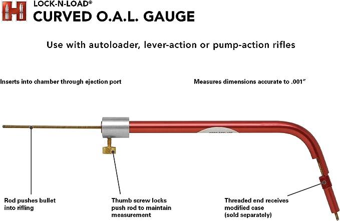 Lock-N-Load OAL Length Gauge Straight Increases Accuracy