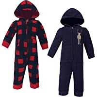 Hudson Baby Unisex Baby and Toddler Fleece Jumpsuits and Coveralls