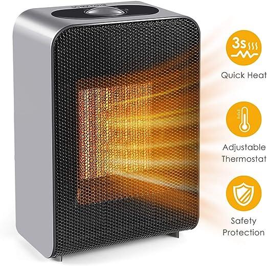 Amazon Com Space Heater Portable Electric Ceramic Space Heater