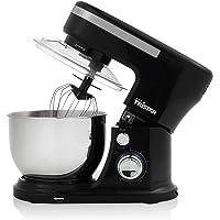 Tristar MX-4837 Robot de cocina, Batidora y Amasadora de repostería, Capacidad de 4 L, 3 Accesorios incluidos, Sistema…