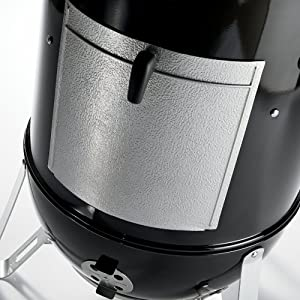 Weber 731001 Smokey Mountain Cooker 22-Inch Charcoal Smoker, Black