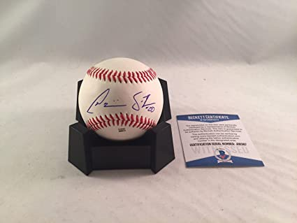 Balls Dominic Smith New York Mets Signed Autograph Baseball