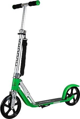 Hudora Bigwheel 2020 Grass Faltbarer Alu Big Wheel Scooter Roller 205 Höhenjustierbar Reflektoren Umhängegurt Amazon De Spielzeug