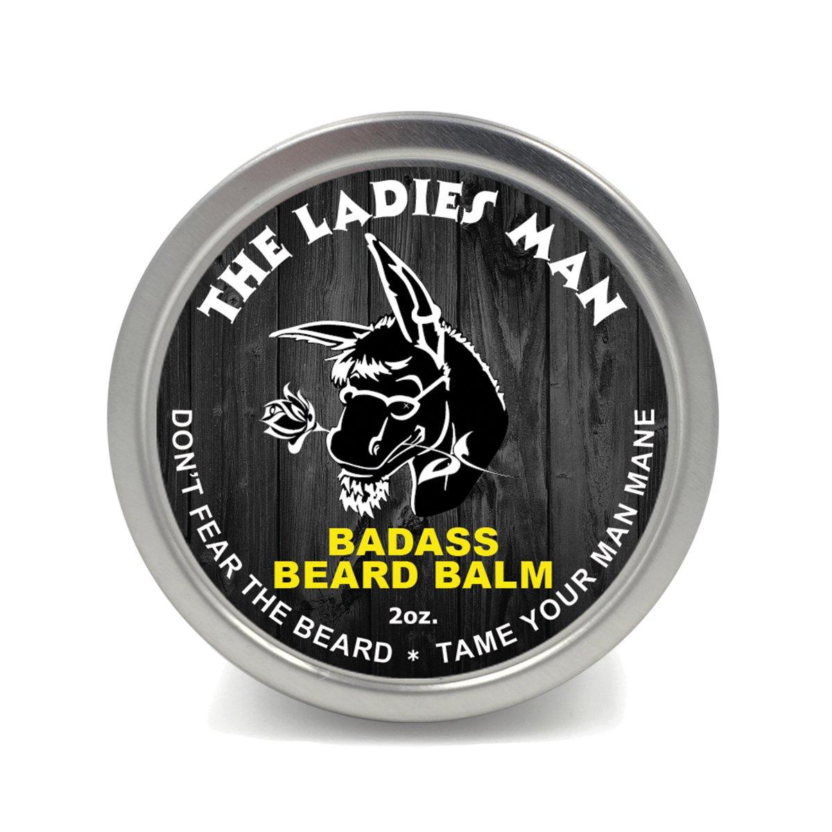 Badass Beard Care Beard Balm best beard balms on amazon