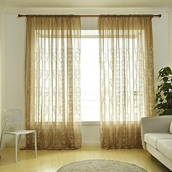 Türkei Vorhang Blumenmuster Voile Blumen Fenster Zimmer