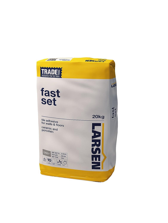 Larsen Larsen Rapid Fast Set 20kg - Floor Tile Adhesive