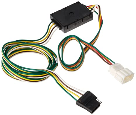 Amazon.com: Curt Manufacturing 55106 Trailer Connector: Automotive on 4 way flat mounting bracket, 4 way flat cover, 4 wire harness, 4 way flat connectors,